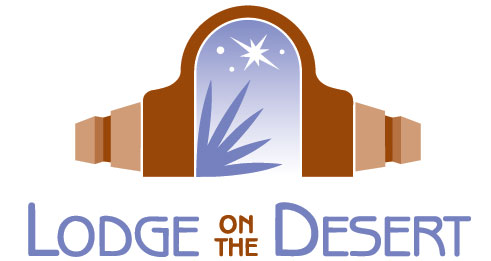 lodge on the desert logo
